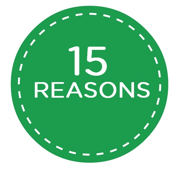 Image result for 15 reasons