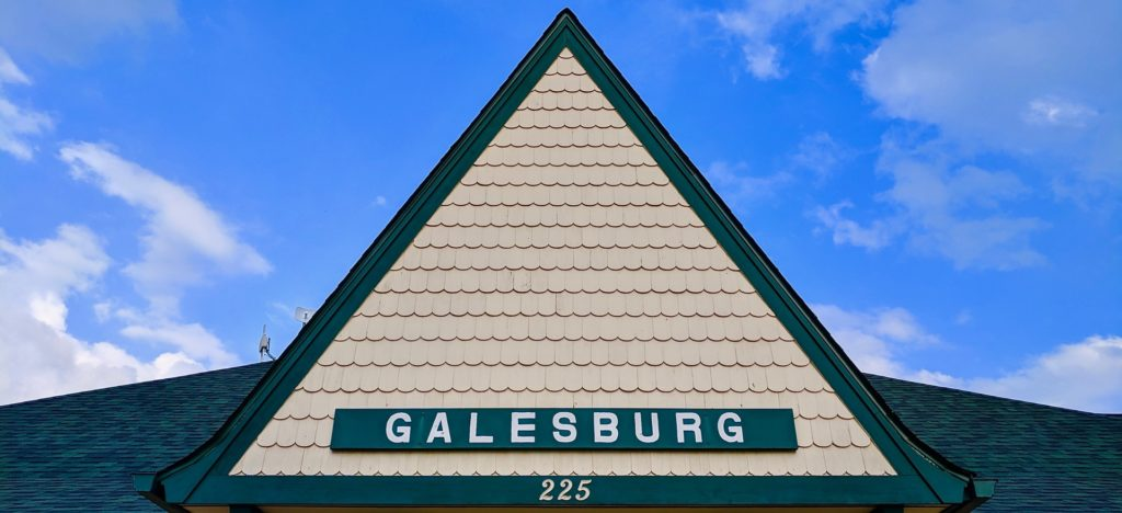 Galesburg Train Depot. Photo by Zachary Whittenburg.